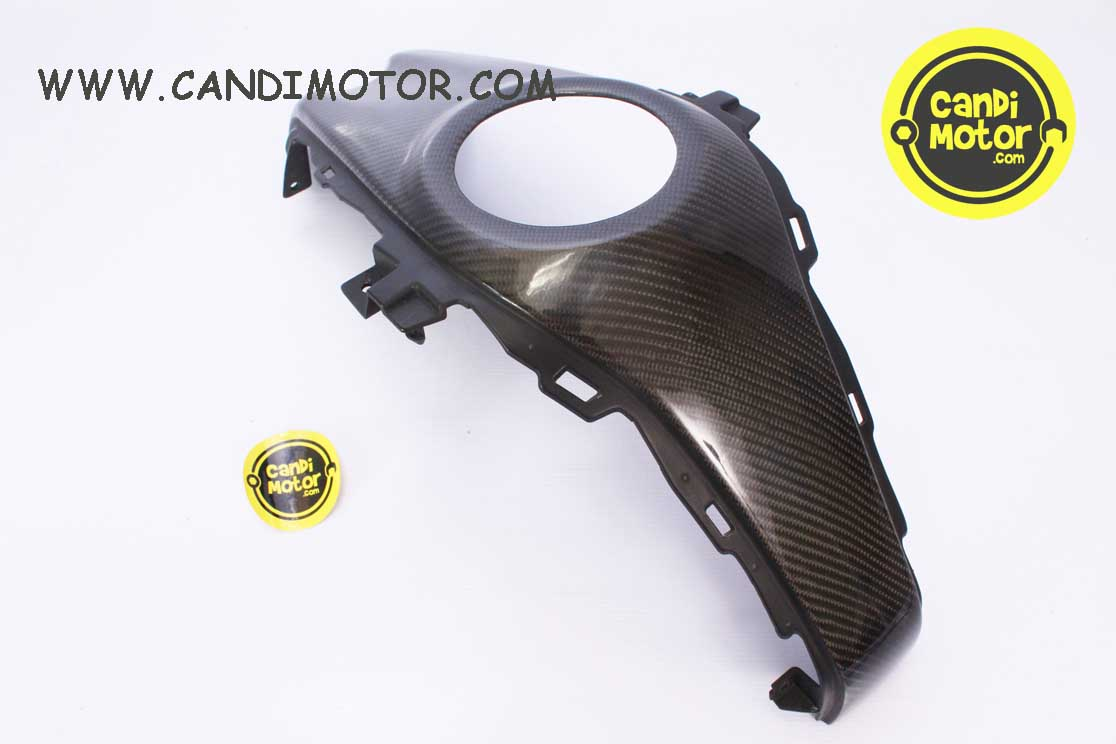TUTUP TANGKI TENGAH CENTER COVER TANK CARBON R25 MT25