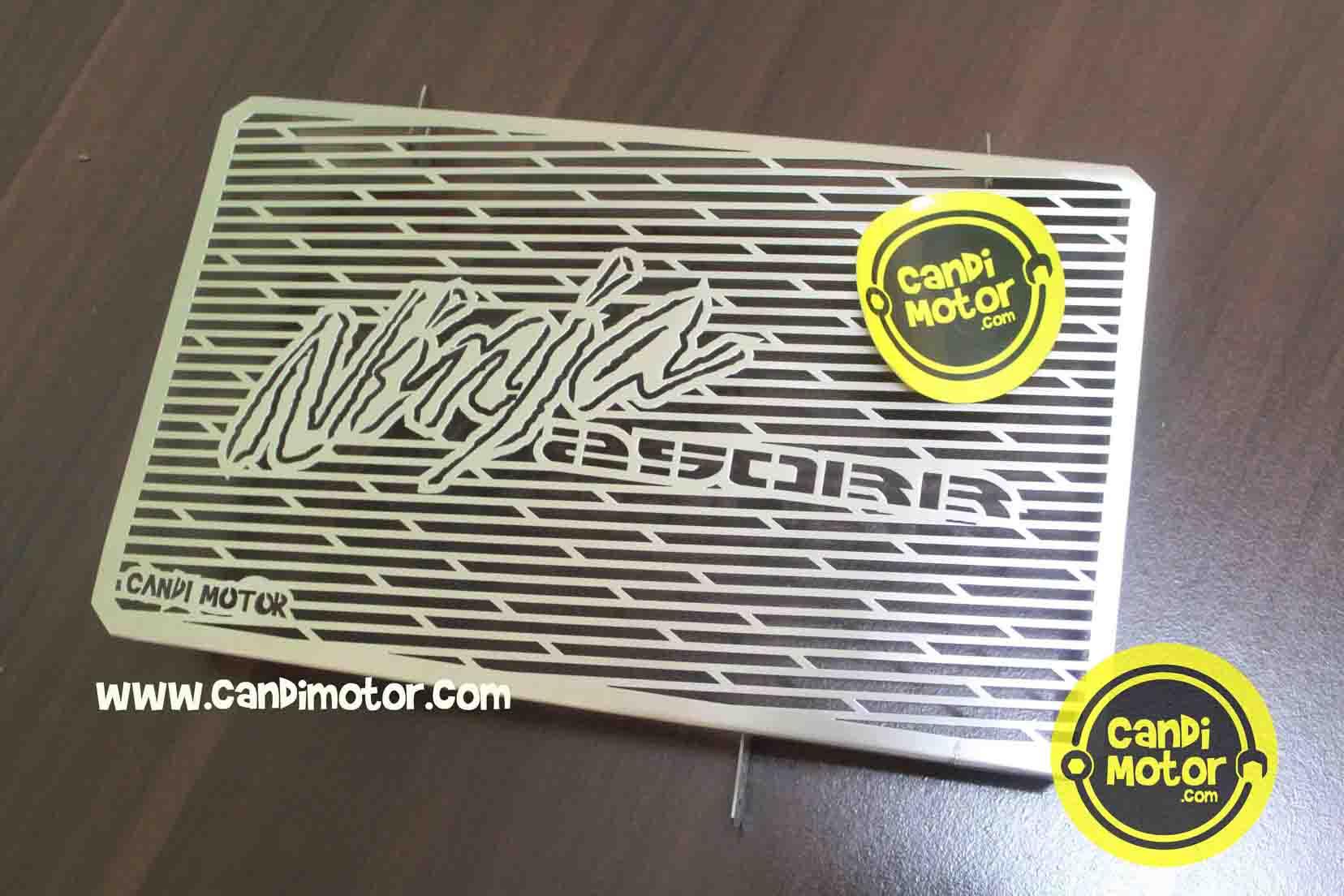 Aksesoris Variasi Candi Motor Cover Pelindung Radiator Grill Ninja Knalpot Prospeed Black Series 250 Rr Mono Z250sl Fullsystem Z250 Sl Ada Juga Untuk Fi Cbr250 Cbr150 R25 Mt25