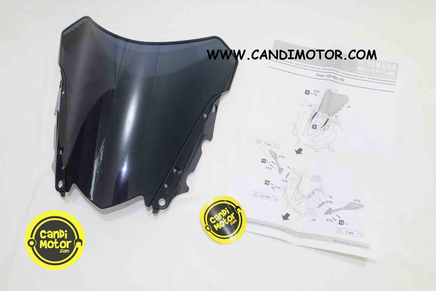 Visor Windshield Yamaha R15 Smoke Daftar Harga Terbaru Dan New Model Motor Gp Krennn Tebel 4mm Anti Buram R25 R3 Candi Kembali Ke Halaman Produk Download