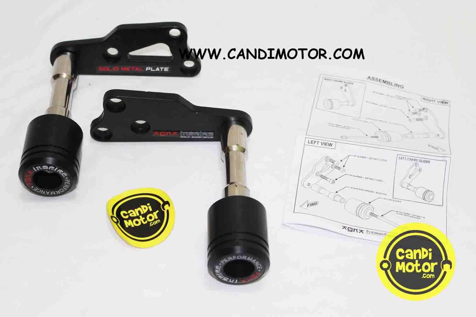 Frame Slider Pelindung Fairing Yamaha R25 Mt25 R3 Candi Motor1 Prospeed Black Series Mt 25 Slip On