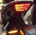Stoplamp 3 in 1 Honda CBR 1000 RR Fireblade - Woolden Racing
