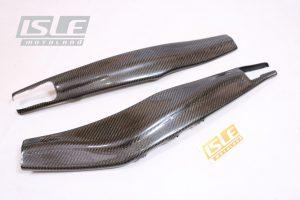 Tutup Swing Arm Cover Carbon Kevlar CBR 250 RR