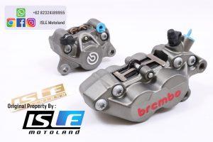 Kaliper Belakang Brembo 2 Piston 1 Pin Grey