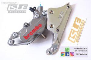 Kaliper Brembo Caliper Depan 4 Piston 1 Pin Grey CBR 250 RR