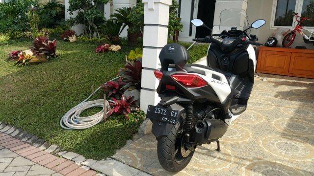 Back Rest / Sandaran Jok Belakang Yamaha X-Max 250 - GBoo