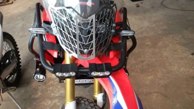 Headlamp Guard Honda CRF250Rally AGNA