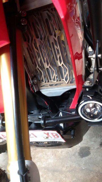 Radiator Guard Pelindung Radiator Honda CRF250Rally CRF 250 Rally AGNA