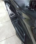Bordes Karpet Yamaha N-max Black Diamond