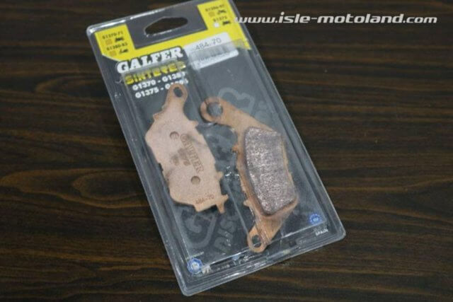 GALFER Kampas Rem Sintered FD484 G1370 Yamaha R25 Belakang