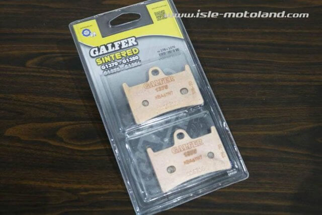 GALFER Kampas Rem Sintered FD178 G1370 Yamaha R1 R6 MT09 FZ6 FZ8 FZ1 T MAX Depan