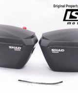 SHAD - Side Box Motor SH23 Black Universal
