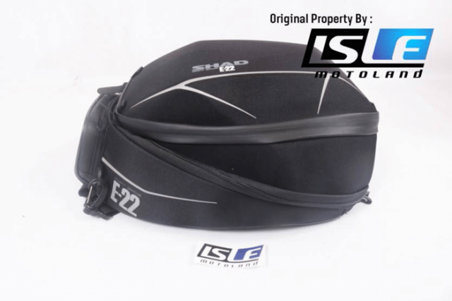 SHAD Tank Bag E22 Model Semi Rigid 16 L With Universal Base Tank