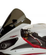 Windshield Yamaha YZF R6 Zero Gravity Double Bubble Smoke