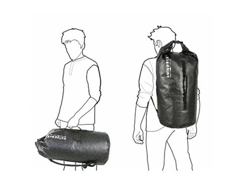 Rear Duffle Bag SHAD Tas Belakang Motor SW38 Zulupack