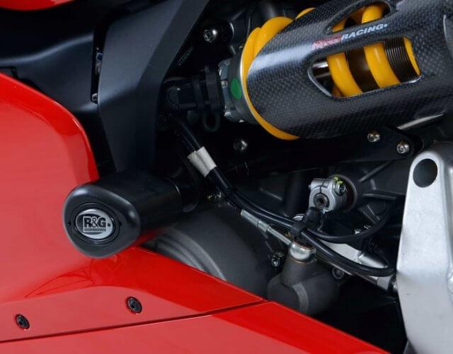 Frame Slider Aero Crash Protectors R&G Ducati Panigale