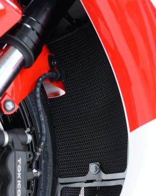 Tutup Pelindung Radiator Honda Cbr1000rr Fireblade - Made In Uk