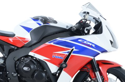 Tank Sliders Pelindung Tangki Carbon Honda CBR1000RR 2012 - Up R&G