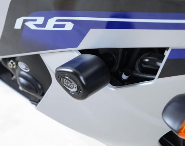 Frame Slider Aero Crash Protector Yamaha YZF R6 2016 Up R&G
