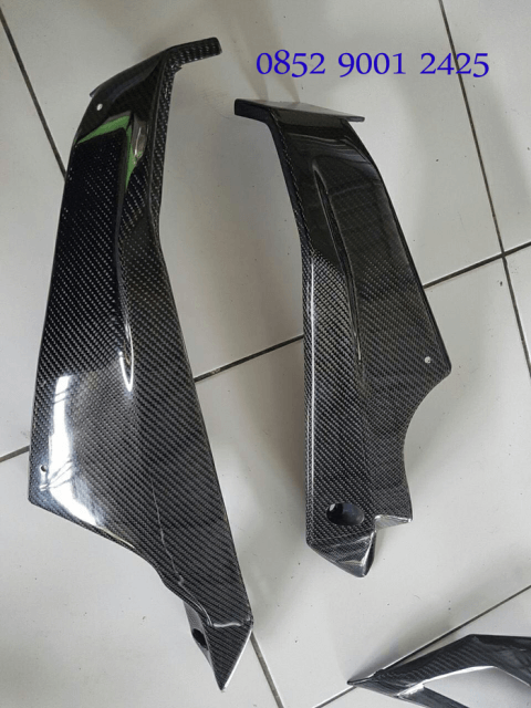 Undercowl Body Bawah New Ninja 250 FI 2018 Carbon Kevlar