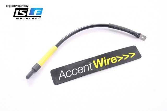 Accent Wire Hitam Performance Series Penambah Power