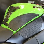Tank Grips Snake Skin KAWASAKI Zx10 2011-14 Techspec
