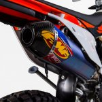 Knalpot FMF Racing KTM 250 SX-F Slip On Titanium