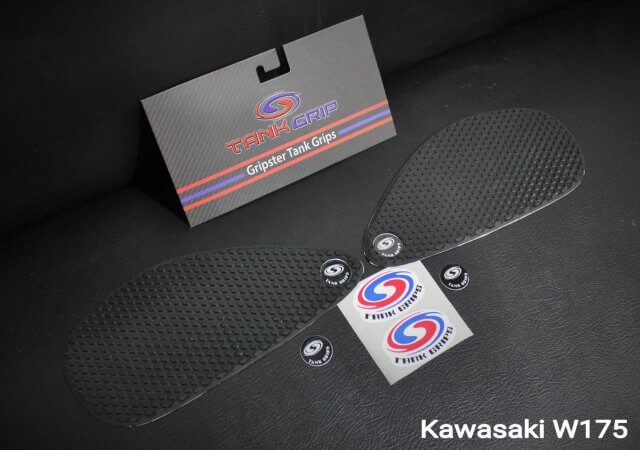 Side Grip Tangki Samping Kawasaki W175 Gripster