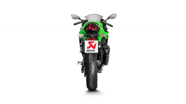 Akrapovic New Ninja 250 FI 2018 Carbon