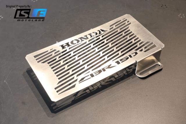 Cover Radiator Guard Honda CBR 150 R Facelift K45G Stainless Stell