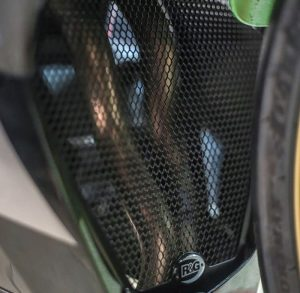 Down Pipe Grille V-Grill New Ninja 250 FI R&G