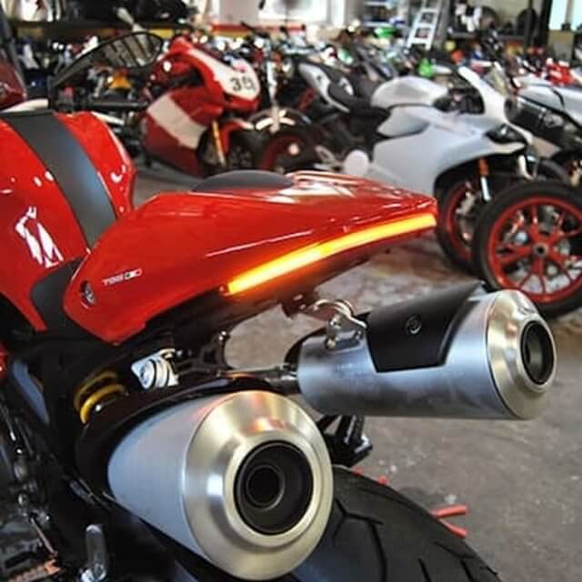 Fender Sein Ducati Monster 696, 795, 1100 NRC