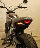 Fender Sein Ducati Scrambler Sixty2 w Plate Bracket NRC