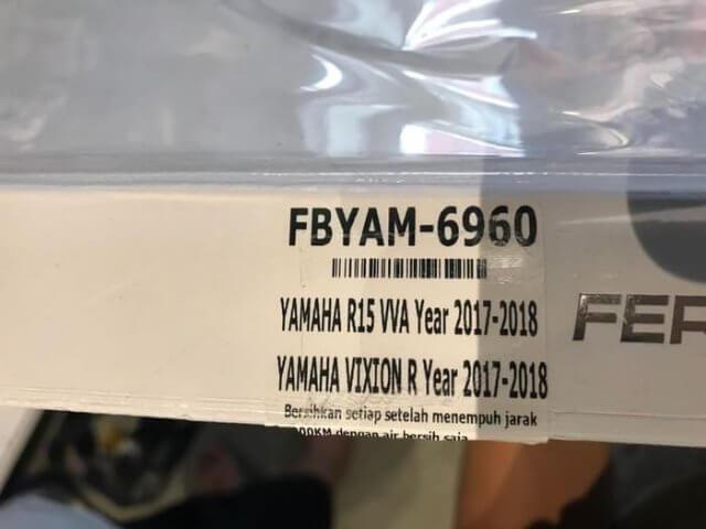 Filter Udara Ferrox Yamaha R15 V3 VVA