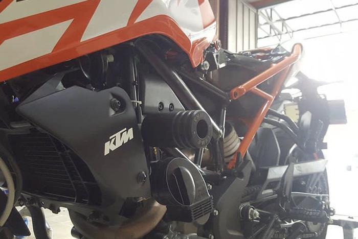Frame Slider KTM Duke