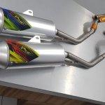 Knalpot CRF150 B'Pro Full System