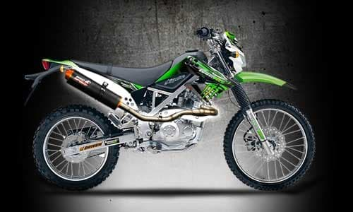 Knalpot Racing Kawasaki KLX 150 KLX150 D Tracker Prospeed MX Series