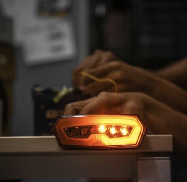 Stoplamp 3 in 1 Honda CB650 Project One