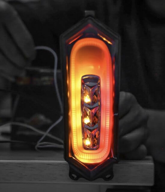 Stoplamp 3 in 1 Yamaha R1 R1M Project One