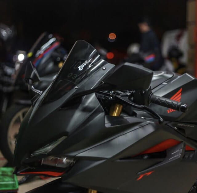 Windshield CBR 250 RR Zerogravity Double Bubble