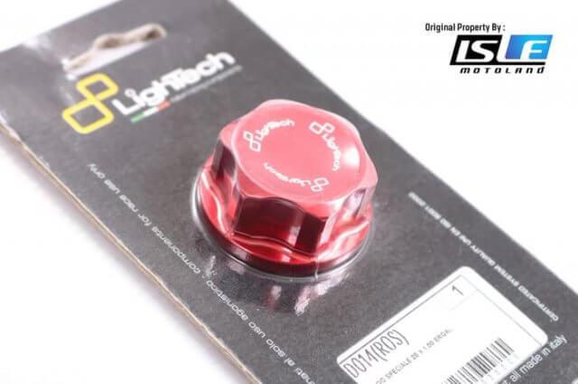 Head Nut Red Kawasaki ZX10R Lightech D014ROS