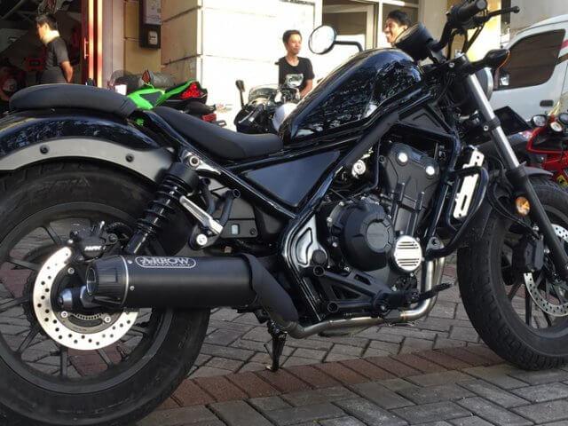 Knalpot Honda Rebel 500 Arrow Italy