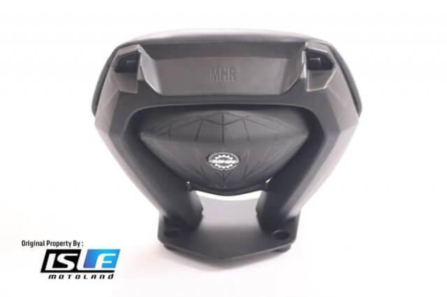 Backrest Sandaran Jok Belakang PCX New LED
