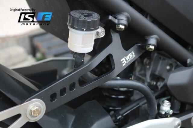 Exhaust Hanger Penggantung Knalpot Kawasaki New Ninja 250 2018 WR3