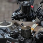 Fluid Tank Tabung Minyak Rem CNC Carbon Italy