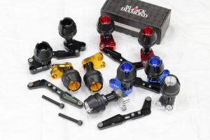 Frame Slider Yamaha Lexi Aerox Xmax Nmax Black Diamond