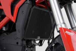 Radiator Guard Cover Radiator Ducati Hypermotard Hyperstrada 821 939 13- Up R&G RG Racing