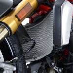 Radiator Guard Cover Radiator Ducati Monster 821 1200 S R 2014- Up R&G