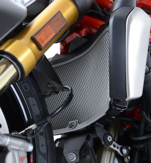 Radiator Guard Cover Radiator Ducati Monster 821 1200 S R 2014- Up R&G