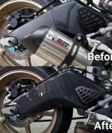 Swing Arm Cover Yamaha R6 Carbon2Race