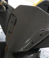 Windshield Visor Yamaha AEROX 155VVA Carbon Kevlar
